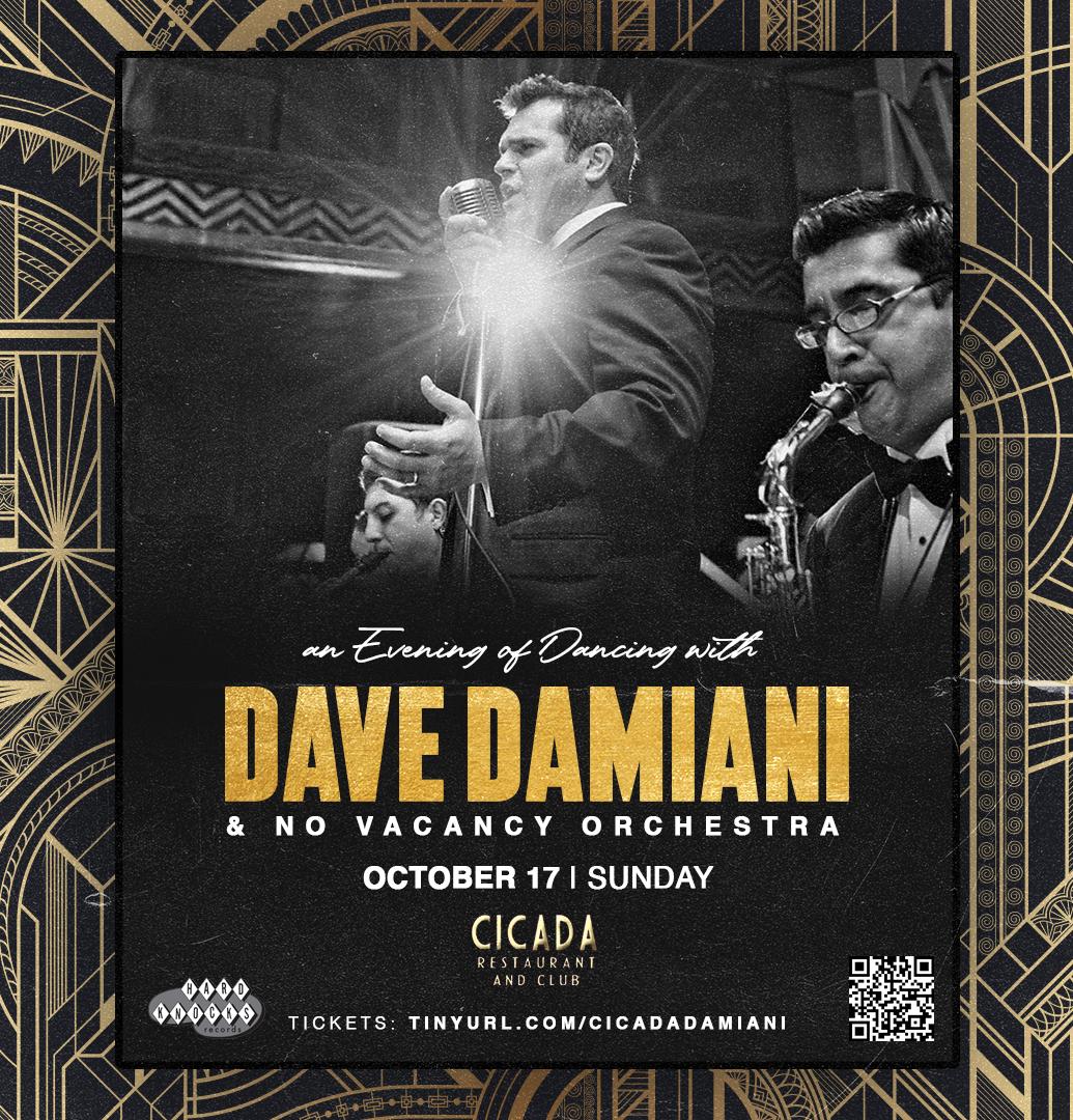 DAVE DAMIANI SEPTET - CICADA CLUB - DOWNTOWN LA
