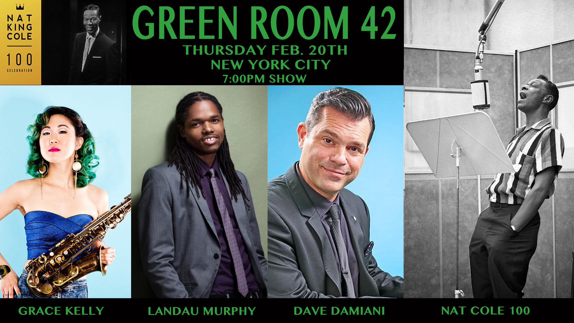 NAT COLE 100 - NEW YORK CITY