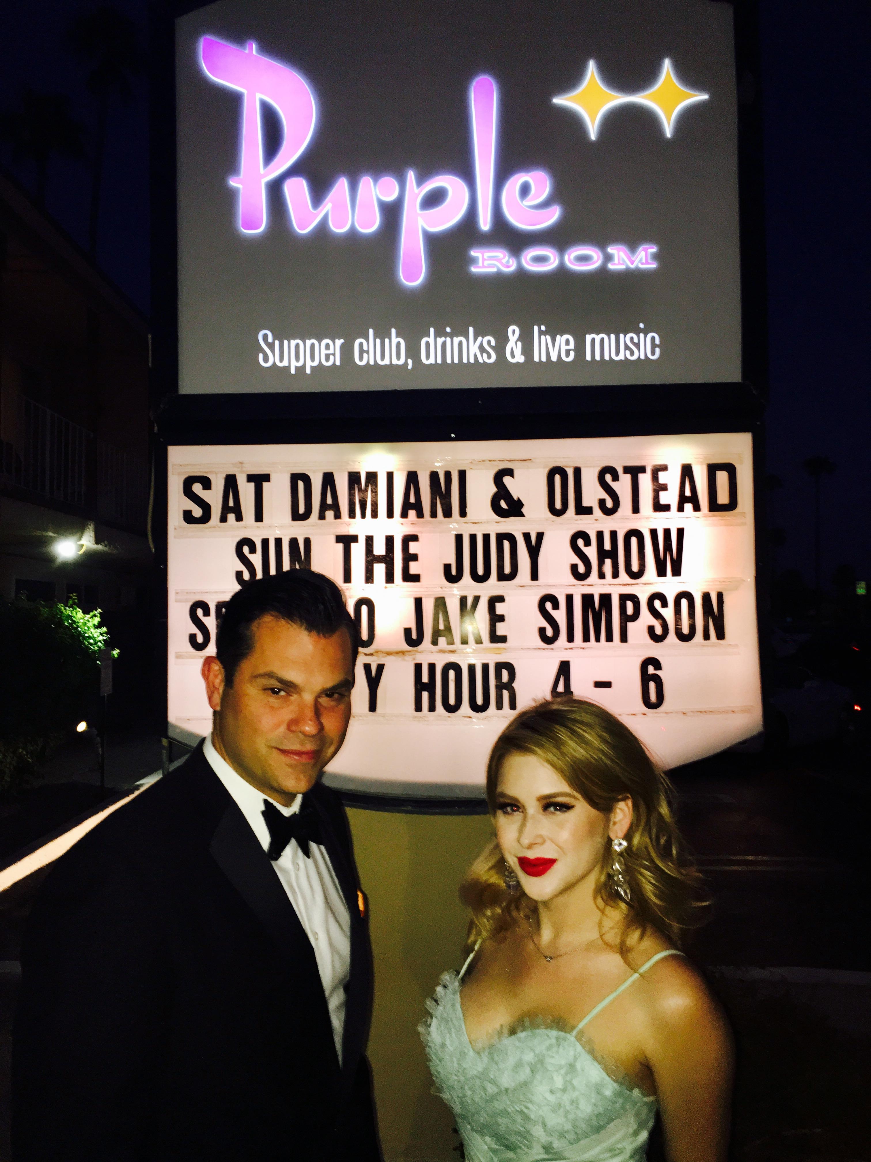 Purple Room in Palm Springs