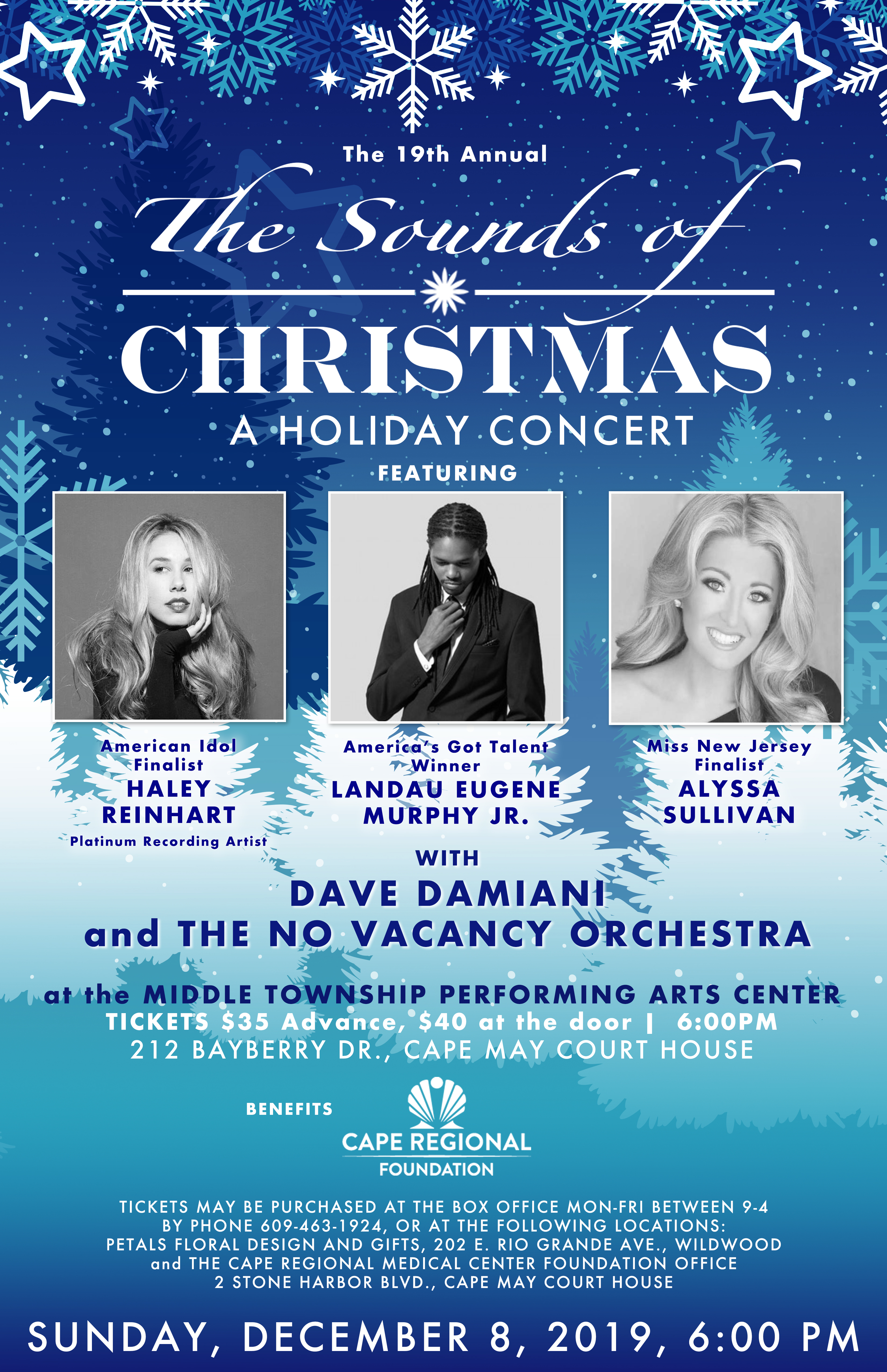 Sounds Of Christmas w/ Haley Reinhart, Landau Murphy Jr, Alyssa Sullivan & Dave Damiani