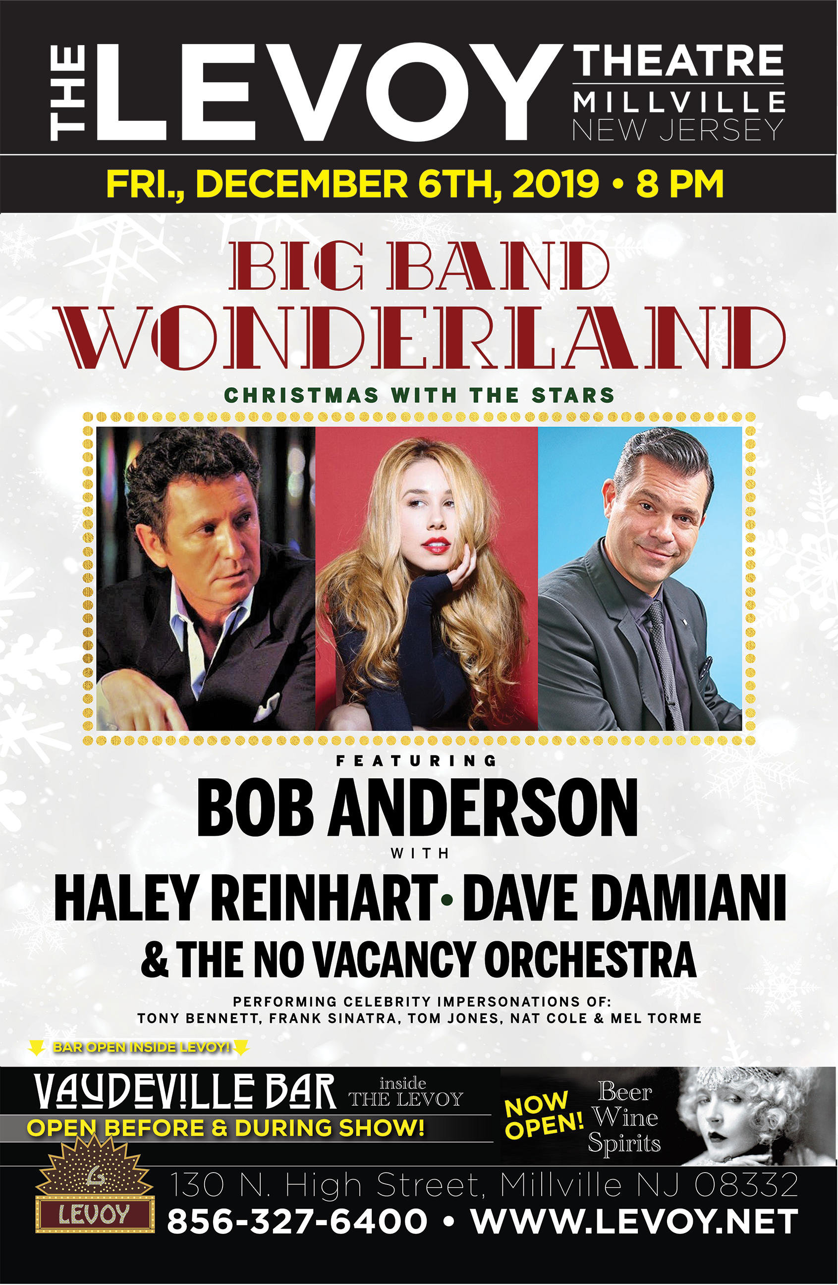 Big Band Wonderland - Haley Reinhart, Bob Anderson & Dave Damiani