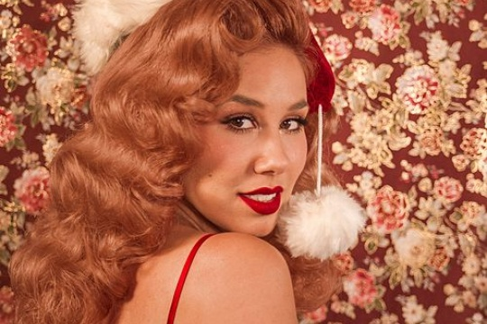 Haley Reinhart's new Santa Baby
